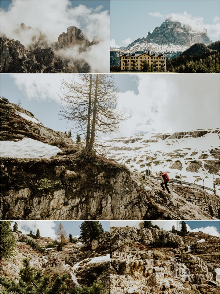 Hike to the Rifugio Auronzo Drei Zinnen from Misurina in the Dolomites by Wild Connections Photography