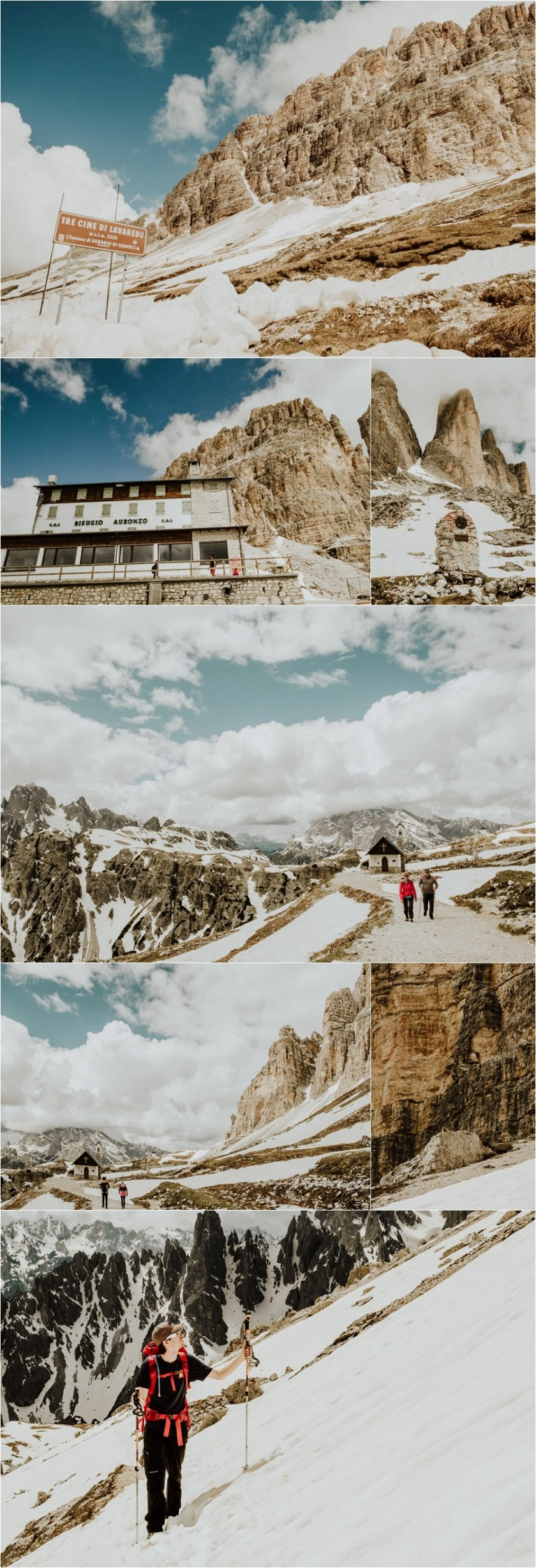 Hike to the Rifugio Auronzo Drei Zinnen by Wild Connections Photography