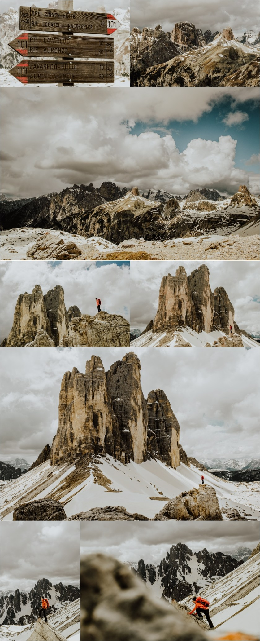Hike to the Drei Zinnen in the Dolomites by Wild Connections Photography