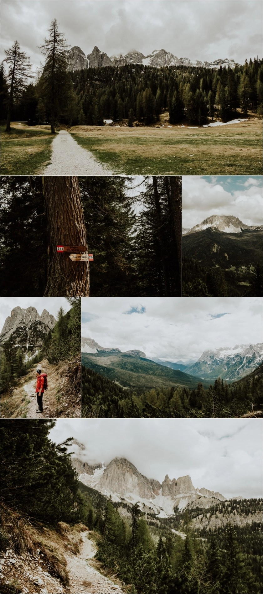 Spring Hike to the Rifugio Vandelli in the Dolomites by Wild Connections Photography