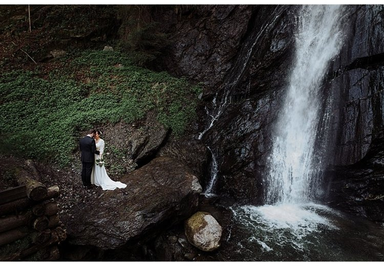 adventure elopement photography in Austria by Wild Connections Photography