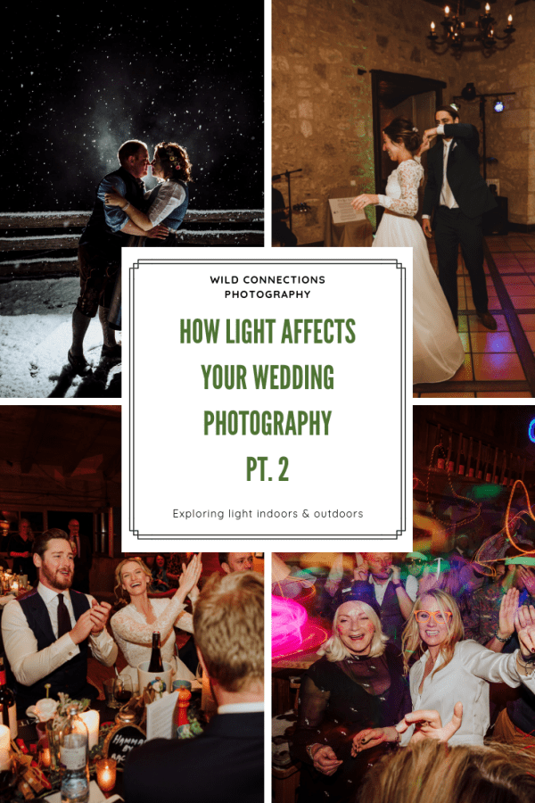 How light affects your wedding photography pt.2 - indoor and artificial light