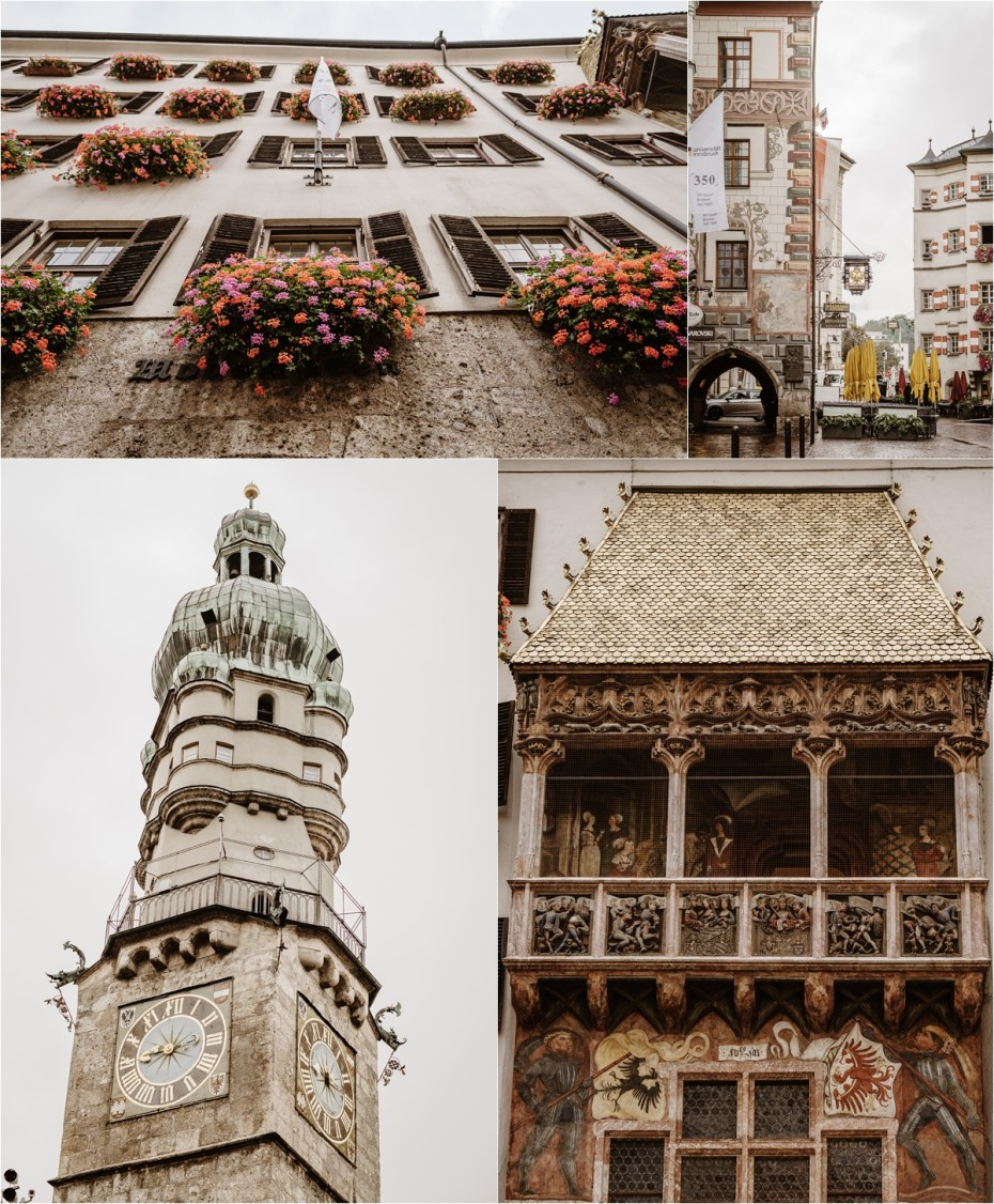 Innsbruck Old Town. Photos by Wild Connections Photography