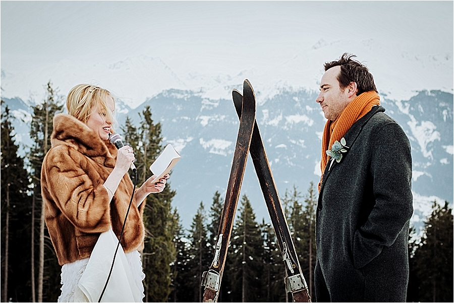 An apres ski inspired wedding at the Toni Alm by Wild Connections Photography