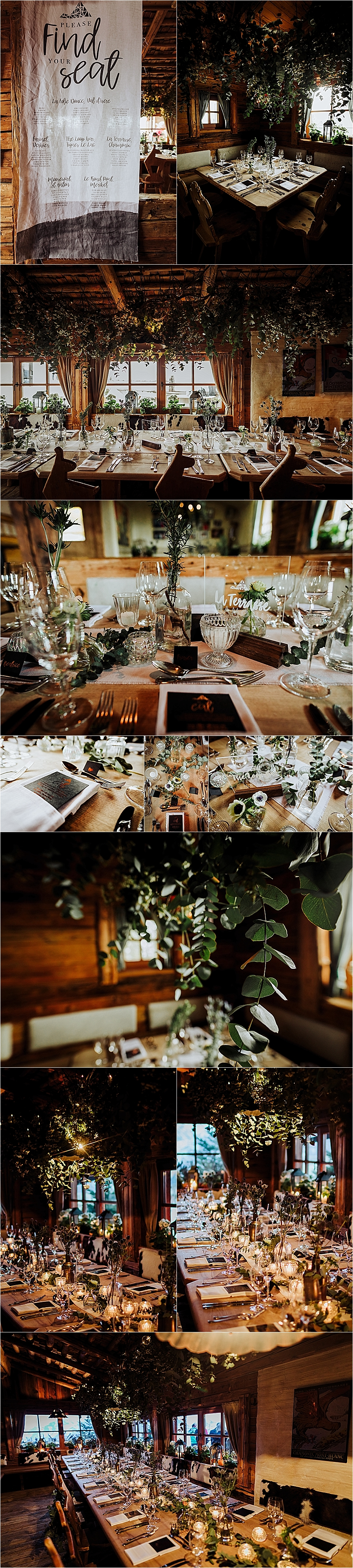 A mountain restaurant apres ski inspired wedding at the Toni Alm in Austria by Wild Connections Photography