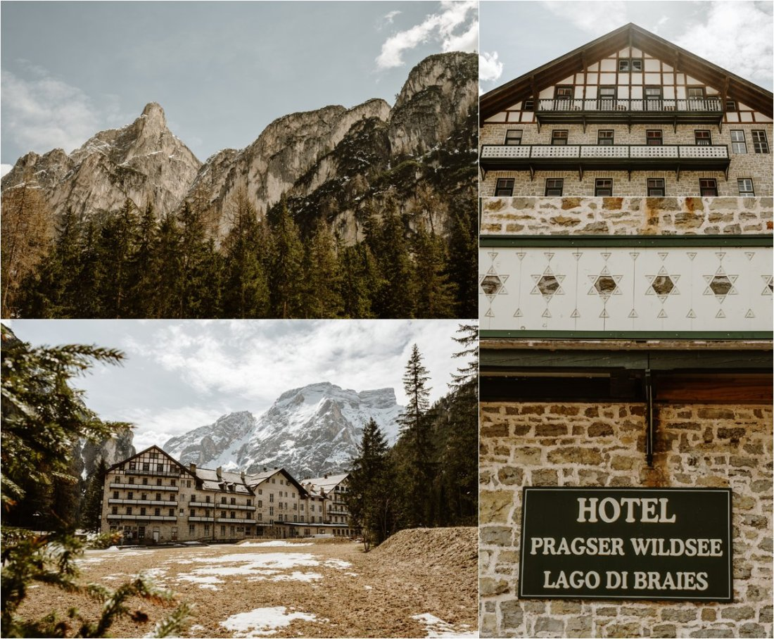 Hotel Lago di Braies in the Dolomites. Photos by Wild Connections Photography