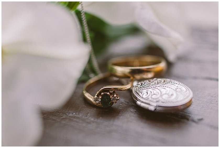 St Johann in Tirol Elopement a locket and rings from Nikki's mother by Wild Connections Photography