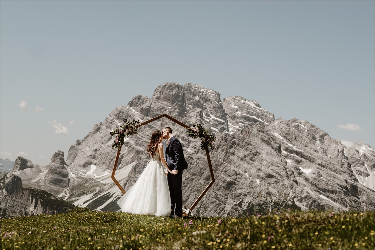 Petya & Tihomir's Tre Cime Elopement in the Dolomites by Wild Connections Photography