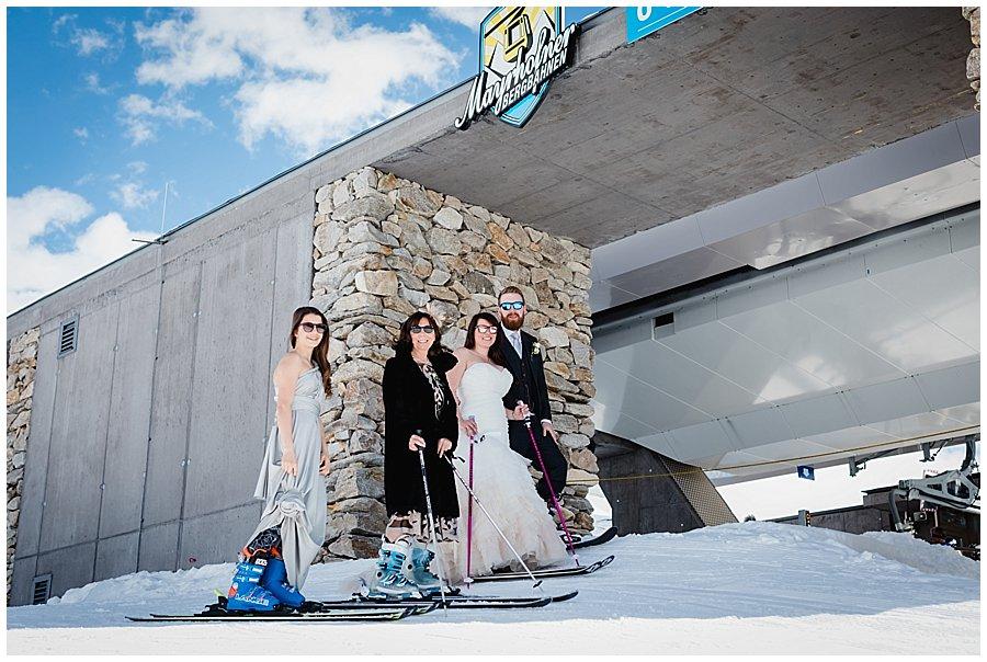 Family Ski Photo