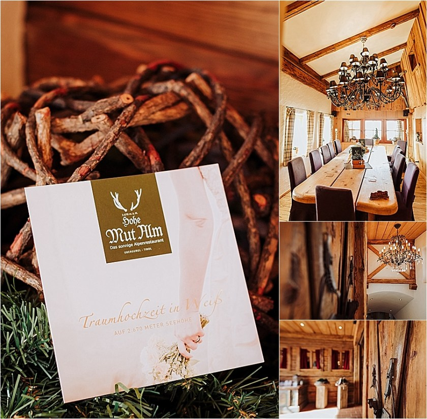 A mountain wedding location, the Hohe Mut Alm in Austria by Wild Connections Photography