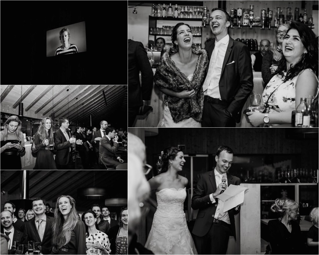 Wedding speeches in the Schmiedhofalm in Zell Am See by Wild Connections Photography