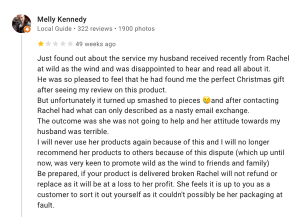 Melly Kennedy Review
