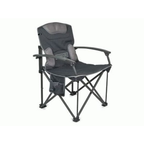 folding sports chair american black walnut dining chairs companion rhino deluxe camp armrests 150kg rated