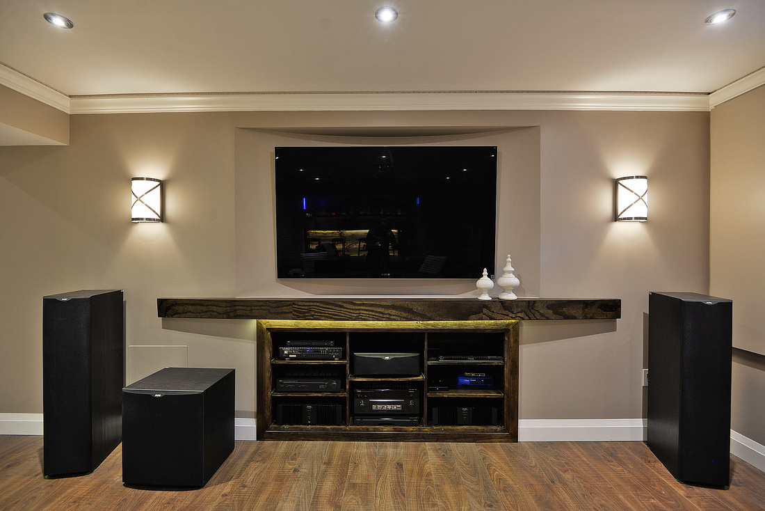 hight resolution of home theatre with 11 5 speakers in basement
