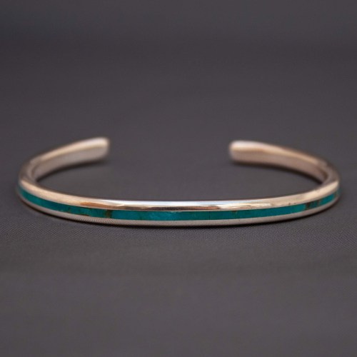 Larry Loretto Thin Turquoise Bracelet