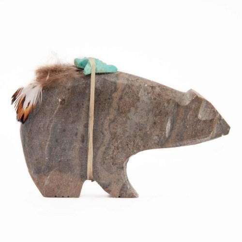 Picasso Stone Jasper Bear