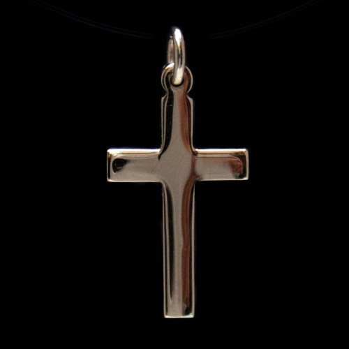 Small 9K Gold Cross Pendant