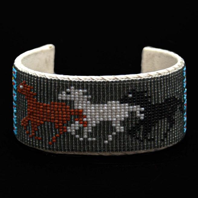 Beaded Horse Bracelet