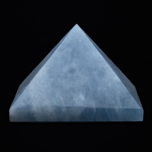 Blue Calcite Pyramid