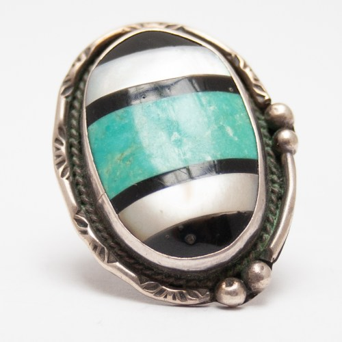 Antique Large Zuni Ring