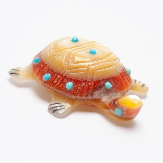 Andrea Quam Zuni Turtle Carving