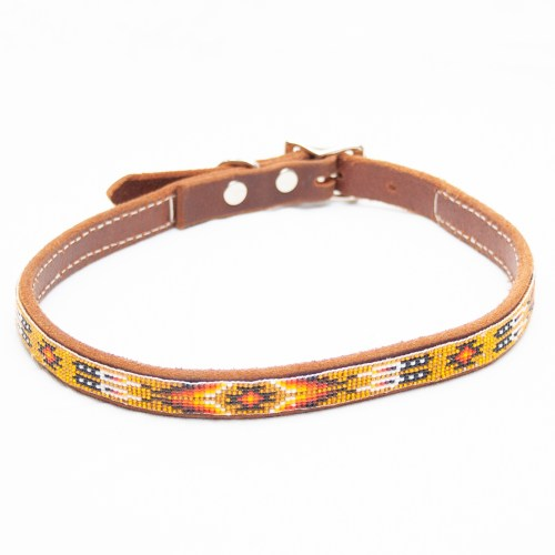 Large Yellow Dog Collar