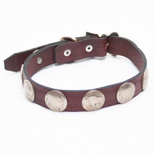 Smart Leather Dog Collar