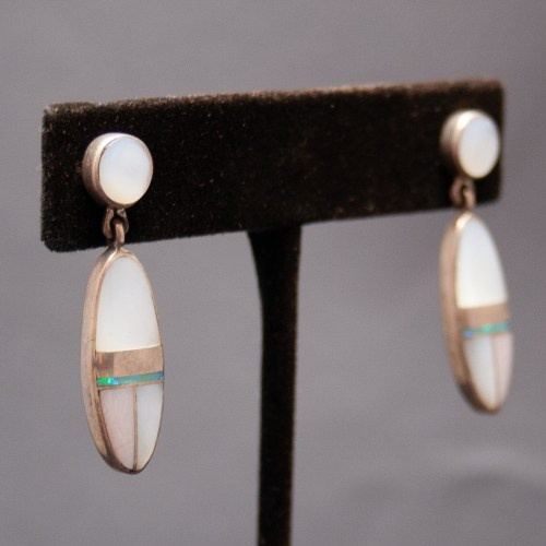 Naraanu Mother-of-Pearl Earrings