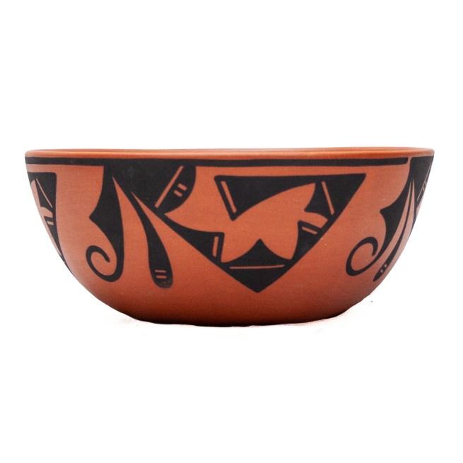 Eileen Yatsattie Zuni Terracotta Bowl