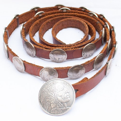 Old Coin Concho Belt