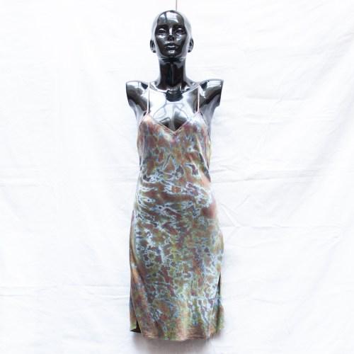 Moss Silk Dress M