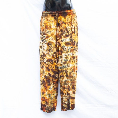 Yellow Tie-Dye Trousers S/M