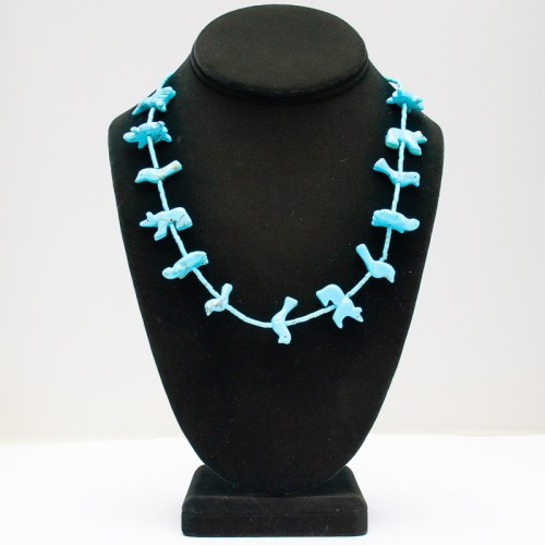 Turquoise Animal Necklace