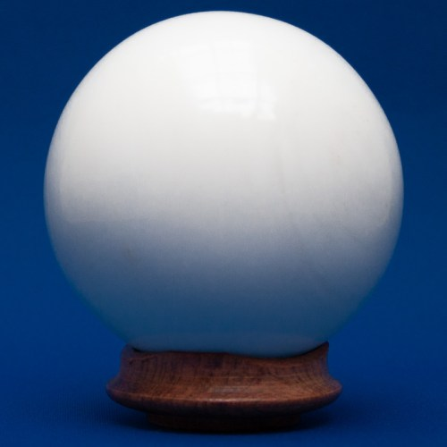 White Onyx Crystal Ball