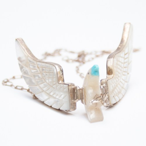 White Eagle Necklace