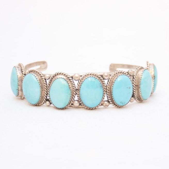 Pete Morgan Large Pale Turquoise Bracelet