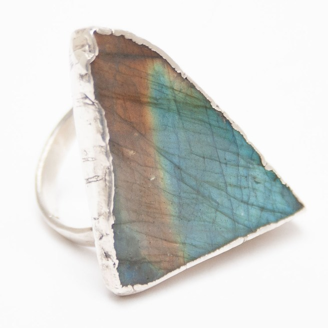 Labradorite Ring