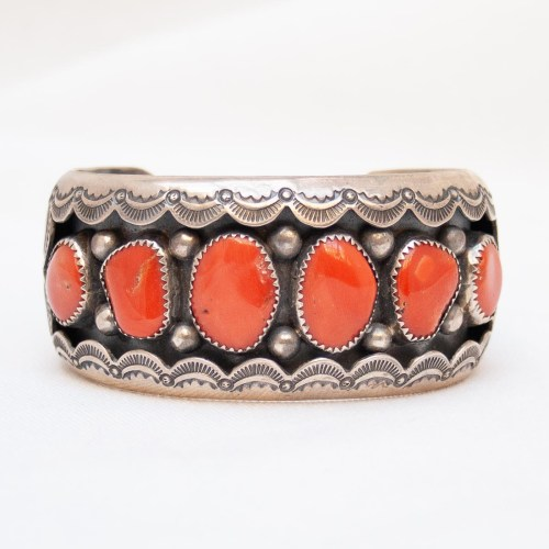 William Muskett Coral Bracelet
