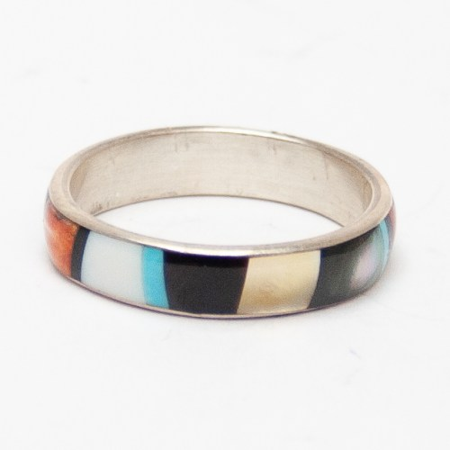 Rose Ukestine Inlay Ring