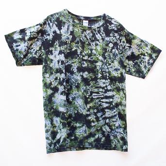 T-Shirt Hippie Militaire Large