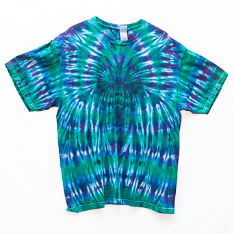 Green Blue T-Shirt Size XL