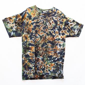 T-Shirt Marron Vert XL