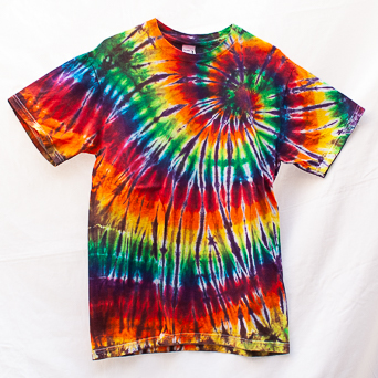 Psychedelic Tie-Dye T-Shirt Size M