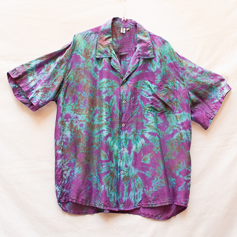 Original Silk Tie-Dye Shirt XL