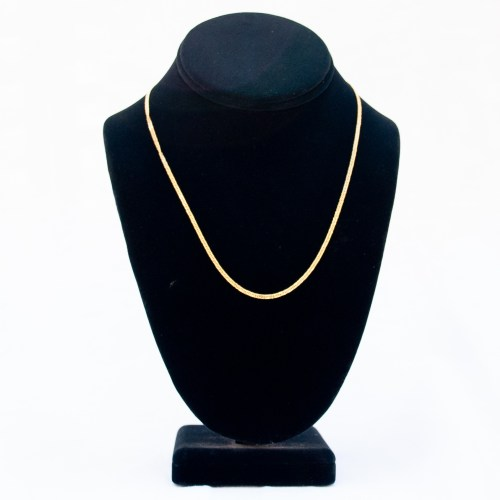 """18K Gold Chain Necklace 18"""""""
