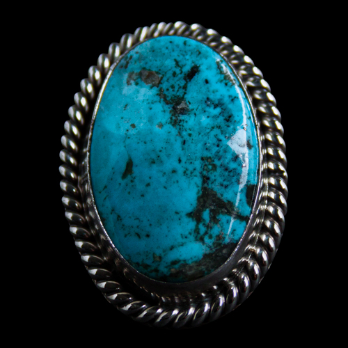 Traditional Navajo Turquoise Ring