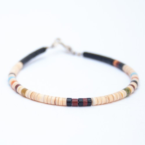 Native American Calabaza Beaded Bracelet