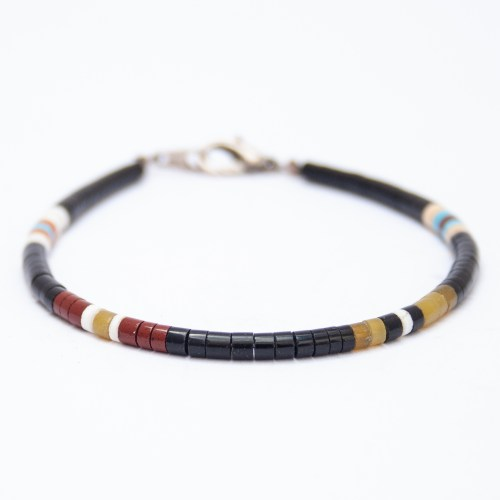Santo Domingo Calabaza Beaded Bracelet