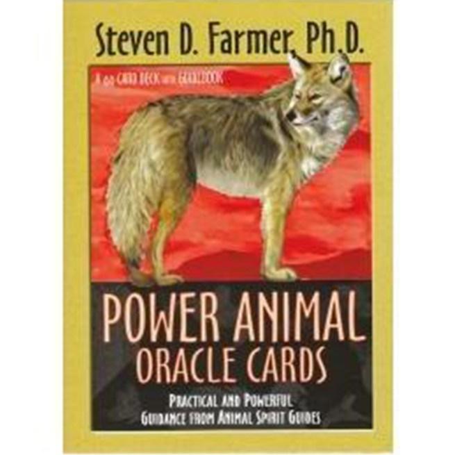 Power Animal Oracle Cards - Steven Farmer