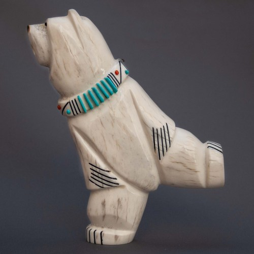 Claudia Peina Large Dancing Bear Carving
